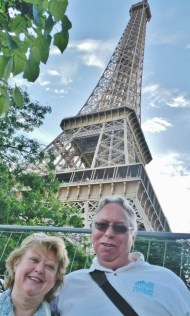 Therese and DFT at the Eiffel Tower