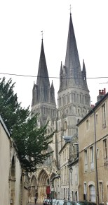 Bayeux Cathedral Western Towers