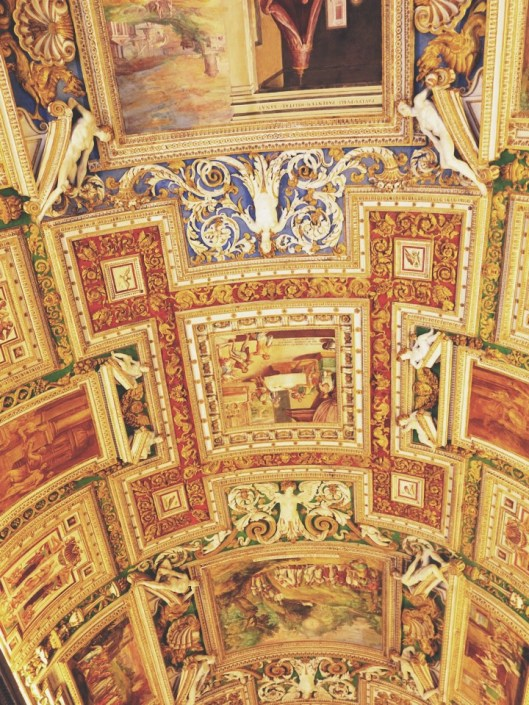 Vatican City ceiling