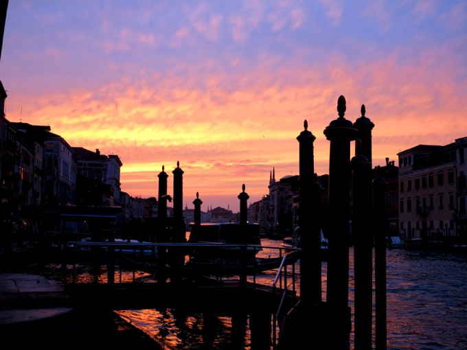 I love sunsets... I love sunsets even more in Venice