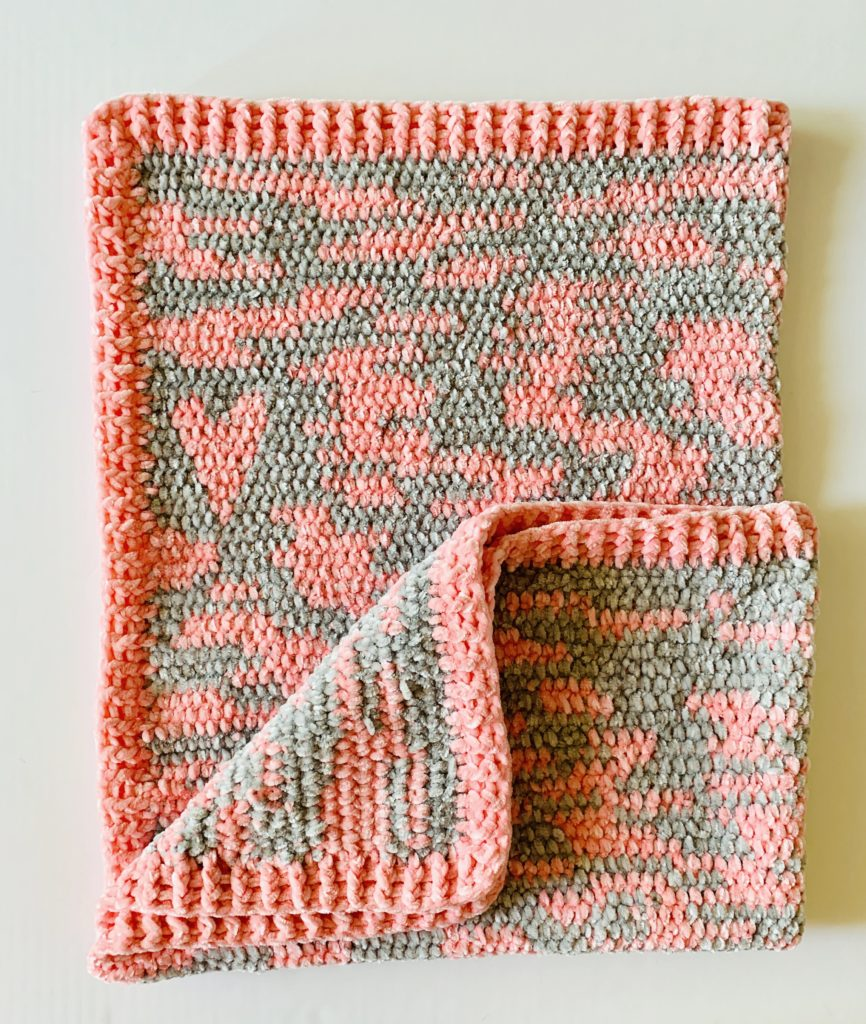 Crocheted Baby Blankets Improv Crochet Baby Blanket Daisy Farm Crafts
