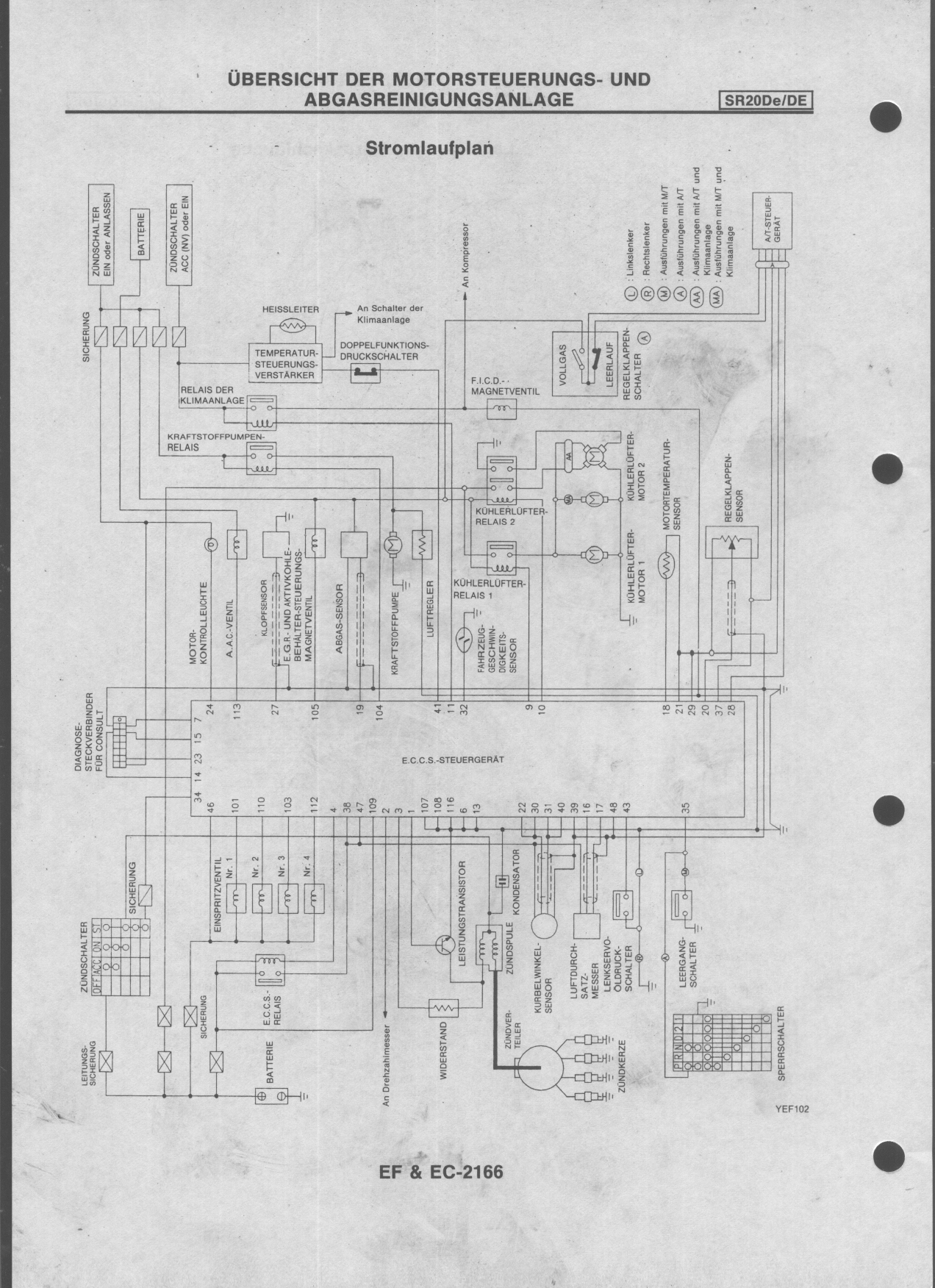 wiring diagrams for nissan sr20 p11