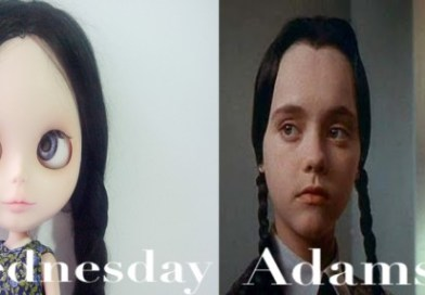 "Customized OOAK Blythe Doll "" Wednesday Adams"""