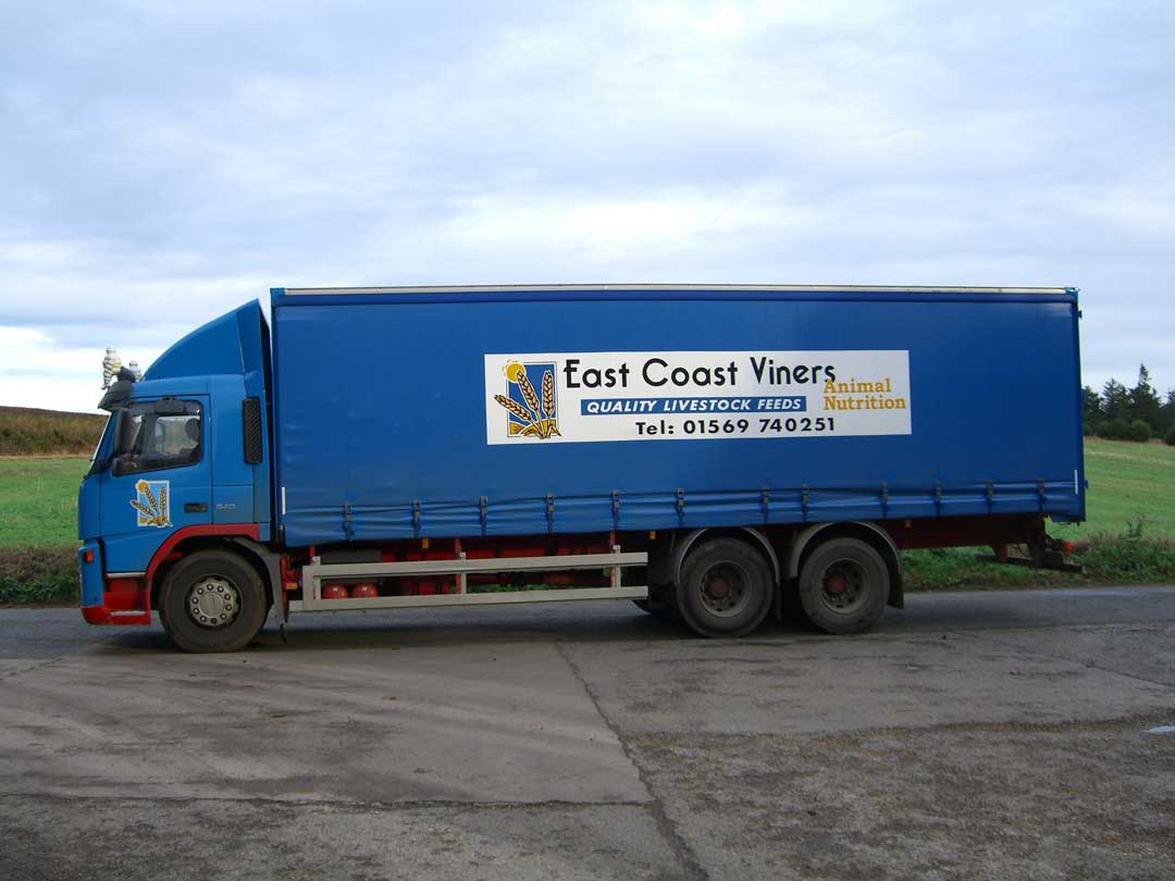 Lorry Curtains Covers Montrose Rope Sail