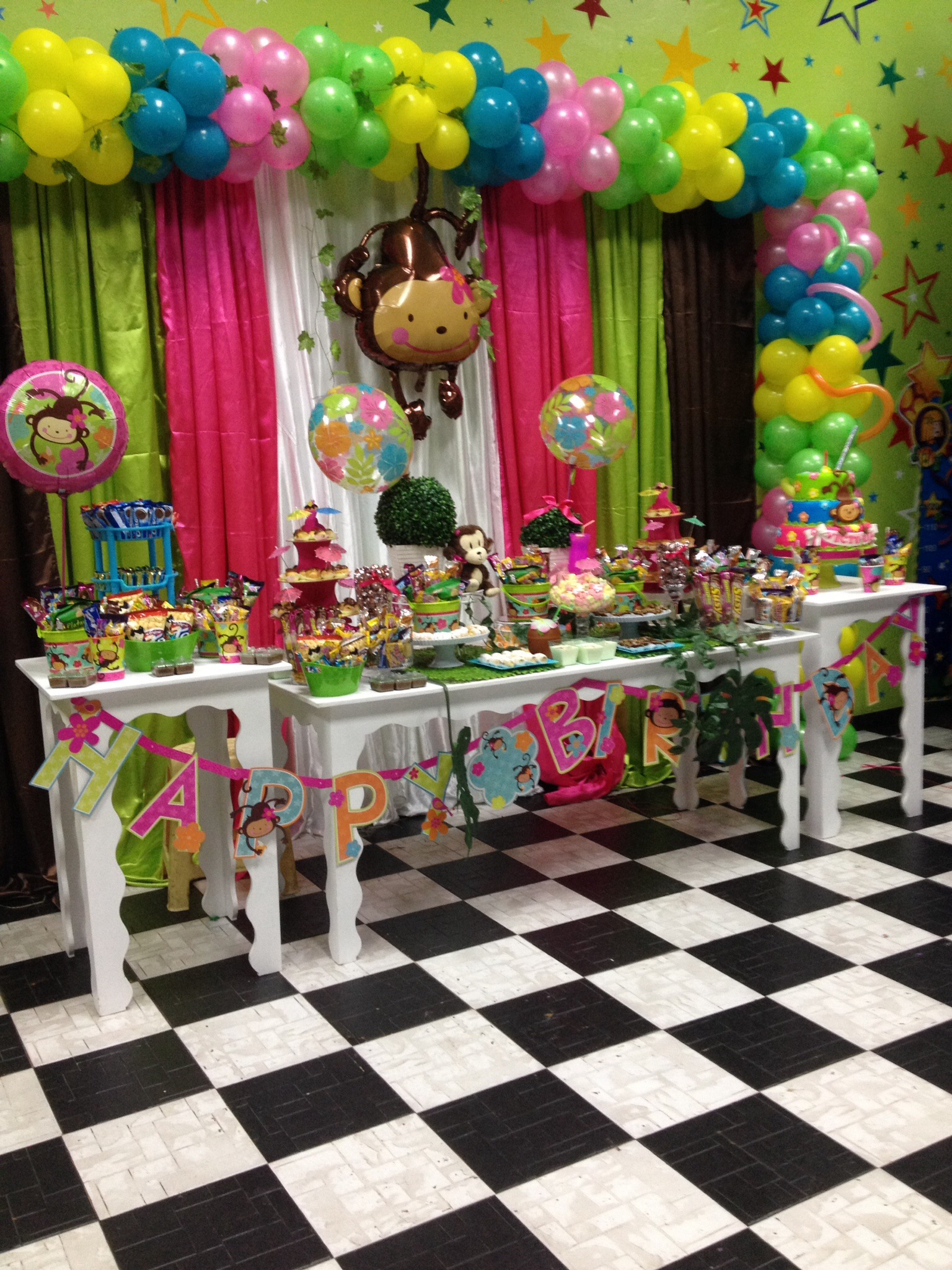 Ideas Para Decorar Globos Mod Monkey - Dale Detalles