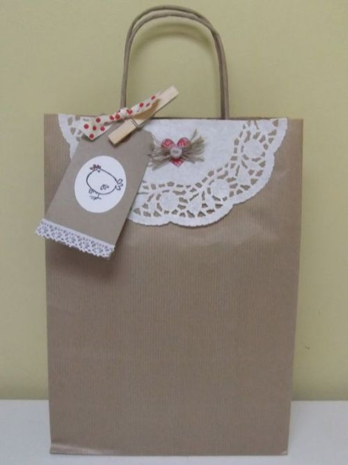 Ideas Para Decorar Globos Bellas Bolsas De Papel Con Blondas - Dale Detalles