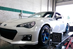 V.L's BRZ sitting on RCE Yellow springs and cool wheels!!
