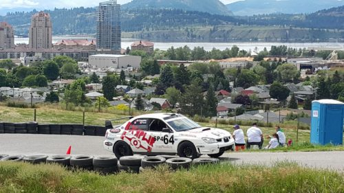 Stu Ford and BXR PWR Rally Convert to Tarmac and Tear up Knox Mountain