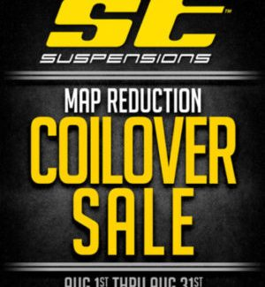 ST SUSPENSIONS 2016 MAP REDUCTION COILOVER SALE
