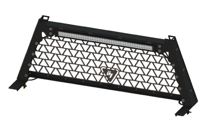 Dtf Headache Rack W 42quot Led Light Bar For 2003 14 Ram Trucks