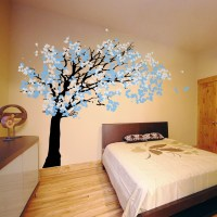 Cherry Blossom Tree - Blowing in the Wind Wall Decal ...
