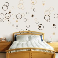 Circles - Bubbles - Set of 72 - Vinyl Wall Decals