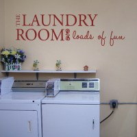 The Laundry Room - Quotes - Wall Decals