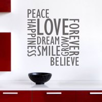 Inspirational Wall Words - Wall Decals Stickers Graphics