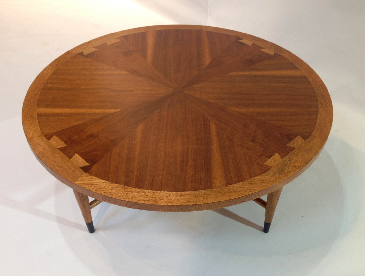 Round Mid Century Coffee Table Vintage Coffee Table Vintage Mid Century Round Walnut