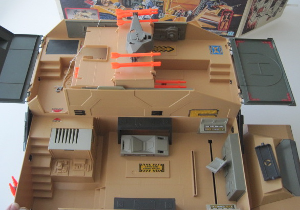 Toy R Toys Gi Joe 1987 Mobile Command Center Boxed
