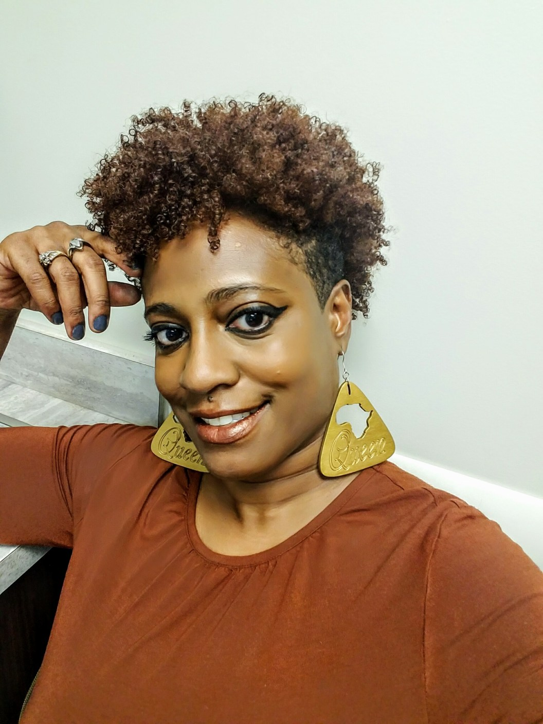 My Natural Hair Inspiration From Youtube Dalovelee1 S