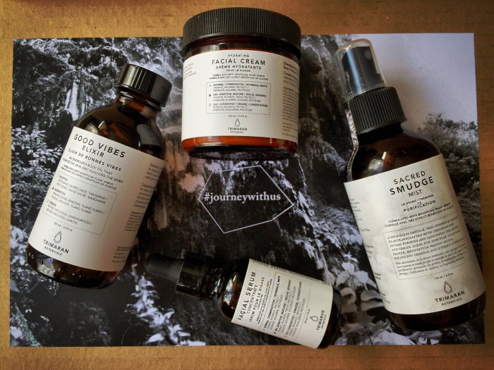 Trimaran Botanicals skincare review featured photo