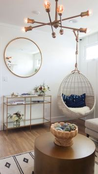 Hanging Chair Roundup & Styling Ideas - Daly Digs