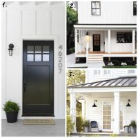 Black Outdoor Farmhouse Lights - Daly Digs