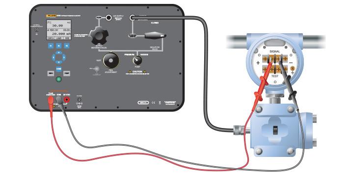 Pressure Transmitter Calibration At The Bench Fluke