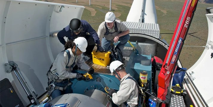 Best Practices For Troubleshooting Wind Turbines Fluke