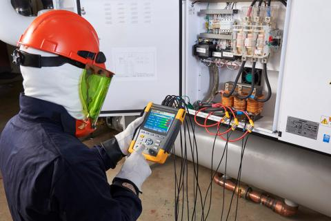 How To Measure Output Voltage From A VFD To A Motor Fluke