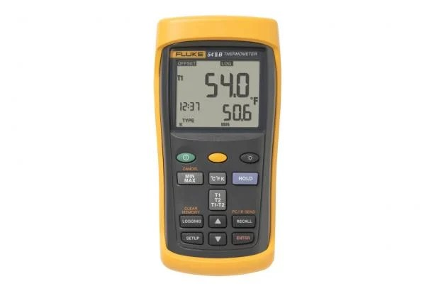 Data Logging Thermometer Fluke 54 II Digital Thermometer Fluke