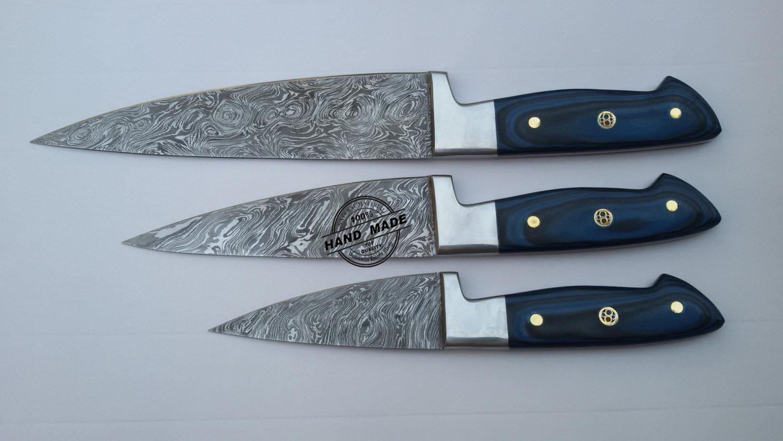 lot pcs damascus kitchen chef knife custom handmade knife kitchen knife custom handmade damascus steel kitchen chef knife