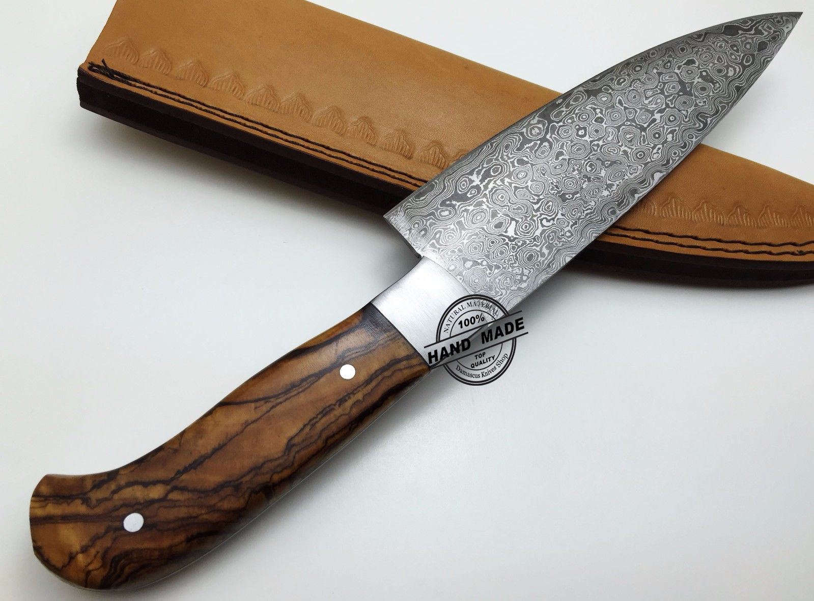 kitchen knife custom handmade damascus steel kitchen chefs knife recommendation good kitchen knife tigerdroppings