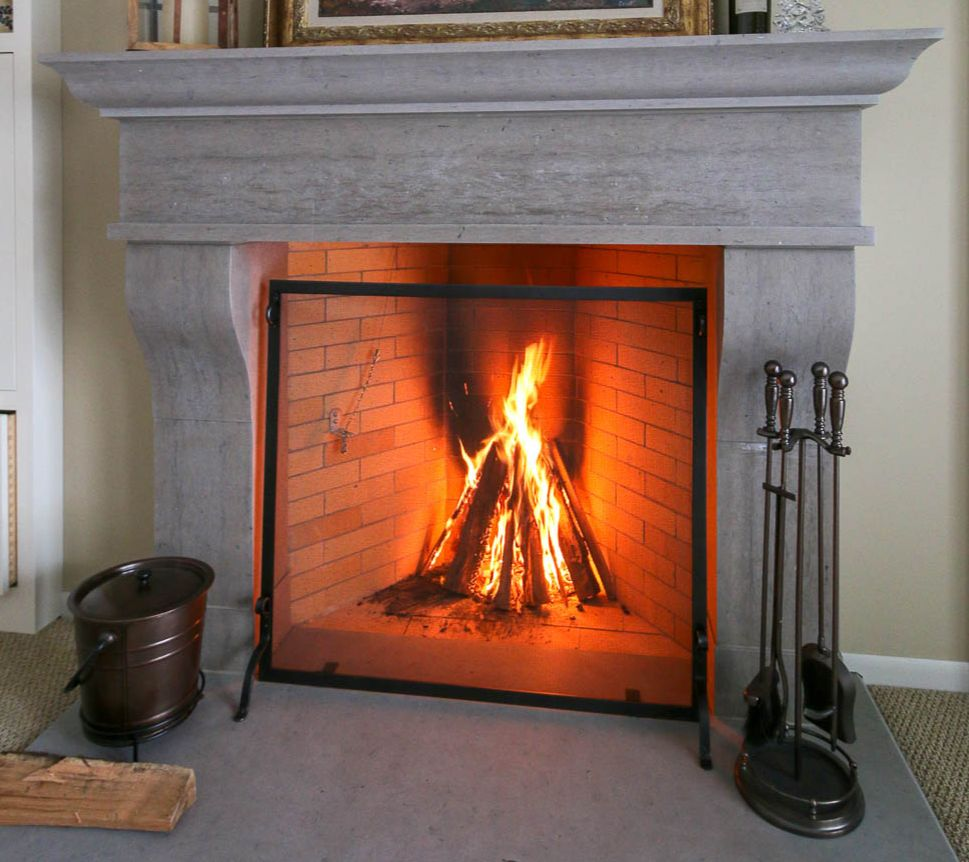 Build Your Own Fireplace Insert The Secret To A Warm Fireplace Dale Anderson Masonry Wisconsin