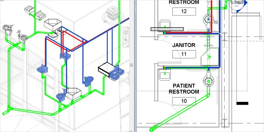 electrical plan revit