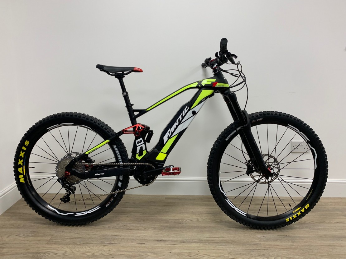 E Full In Fantic Xf1 Integra 160 Race 2019 Full Suspension Electric Bike