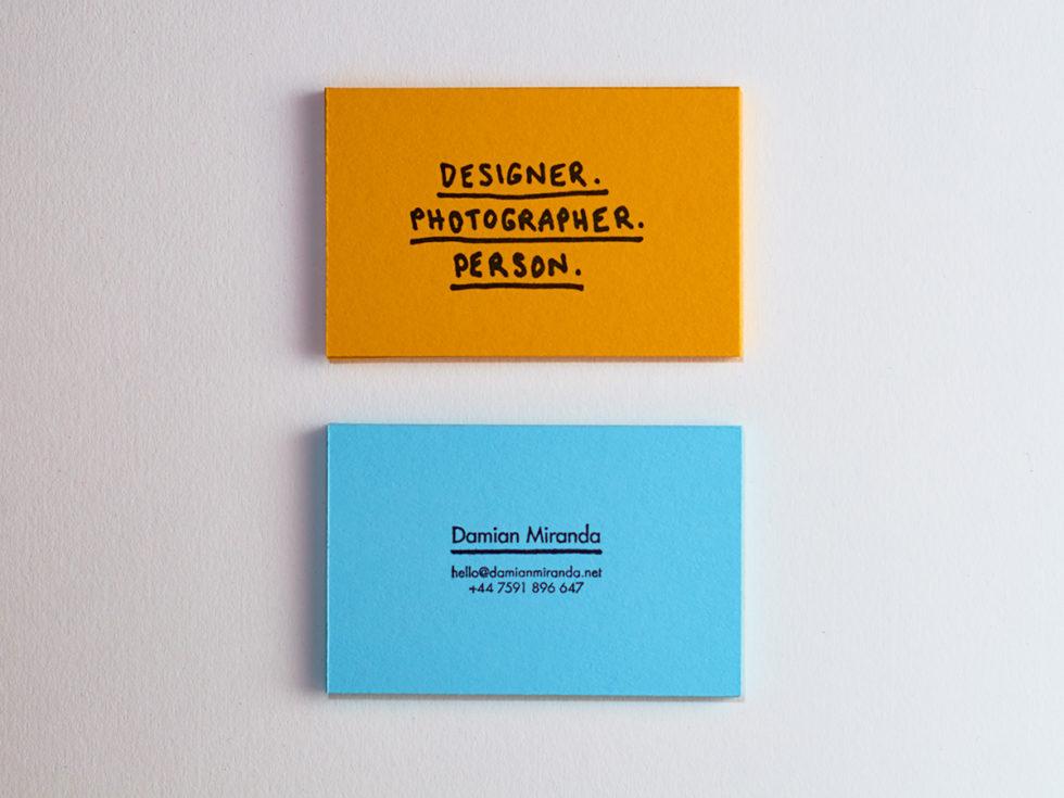 Personal Card Archives - Damian Miranda - personal net