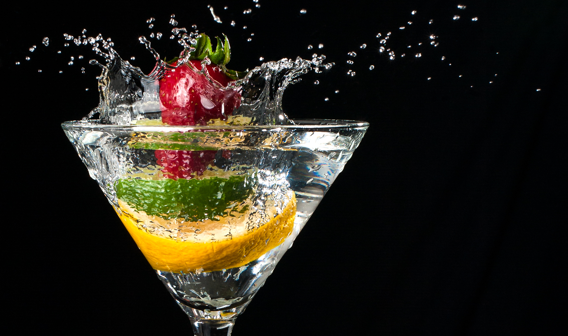 Glass Wallpaper Hd Fruit Splash Damian Vines Photography