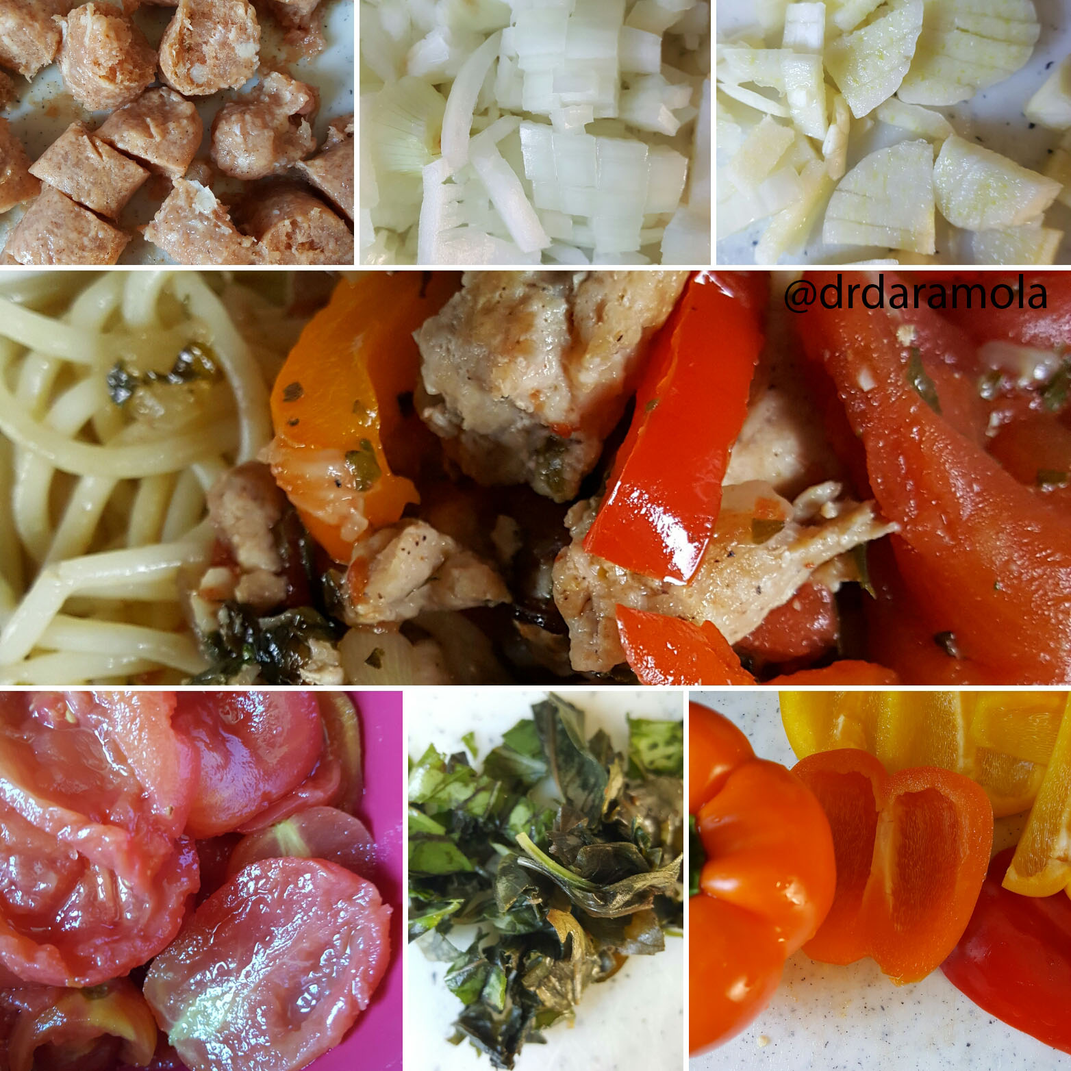 Slow Cooker Chronicles – Chicken Sausage with Peppers and Basil
