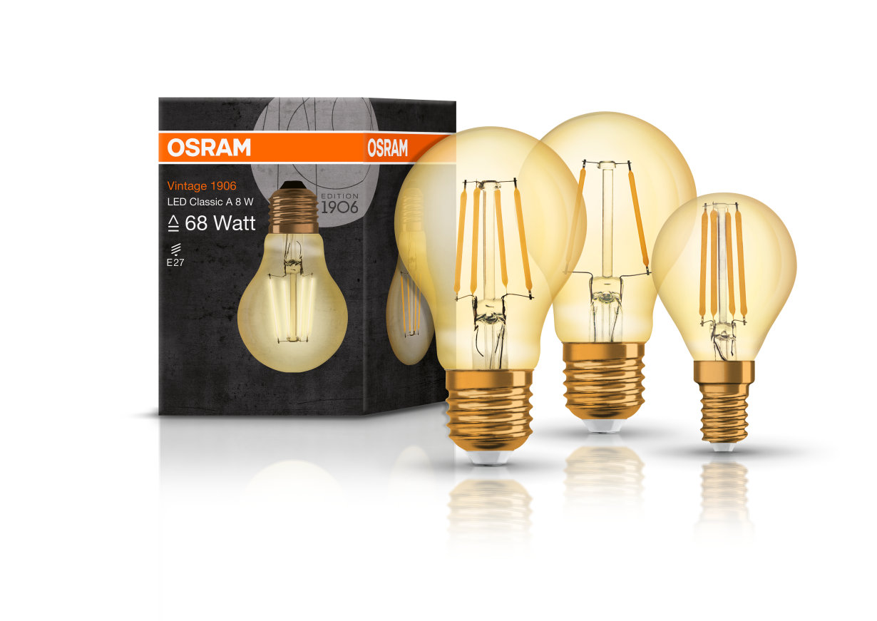 Filament Led Dimmbar Vintage Edition 1906 Lamps Osram Lamps