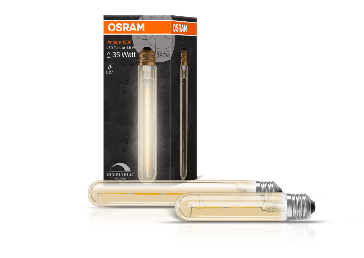 Lamparas Led Watts Vintage Edition 1906 Lamps Osram Lamps