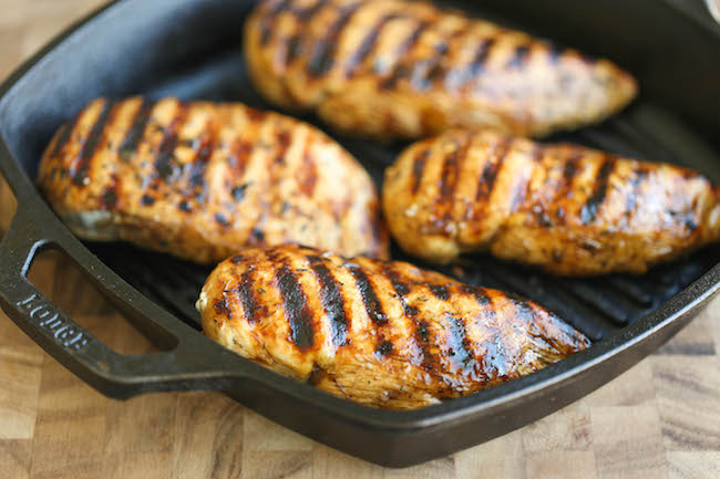 Easy Grilled Chicken - Damn Delicious