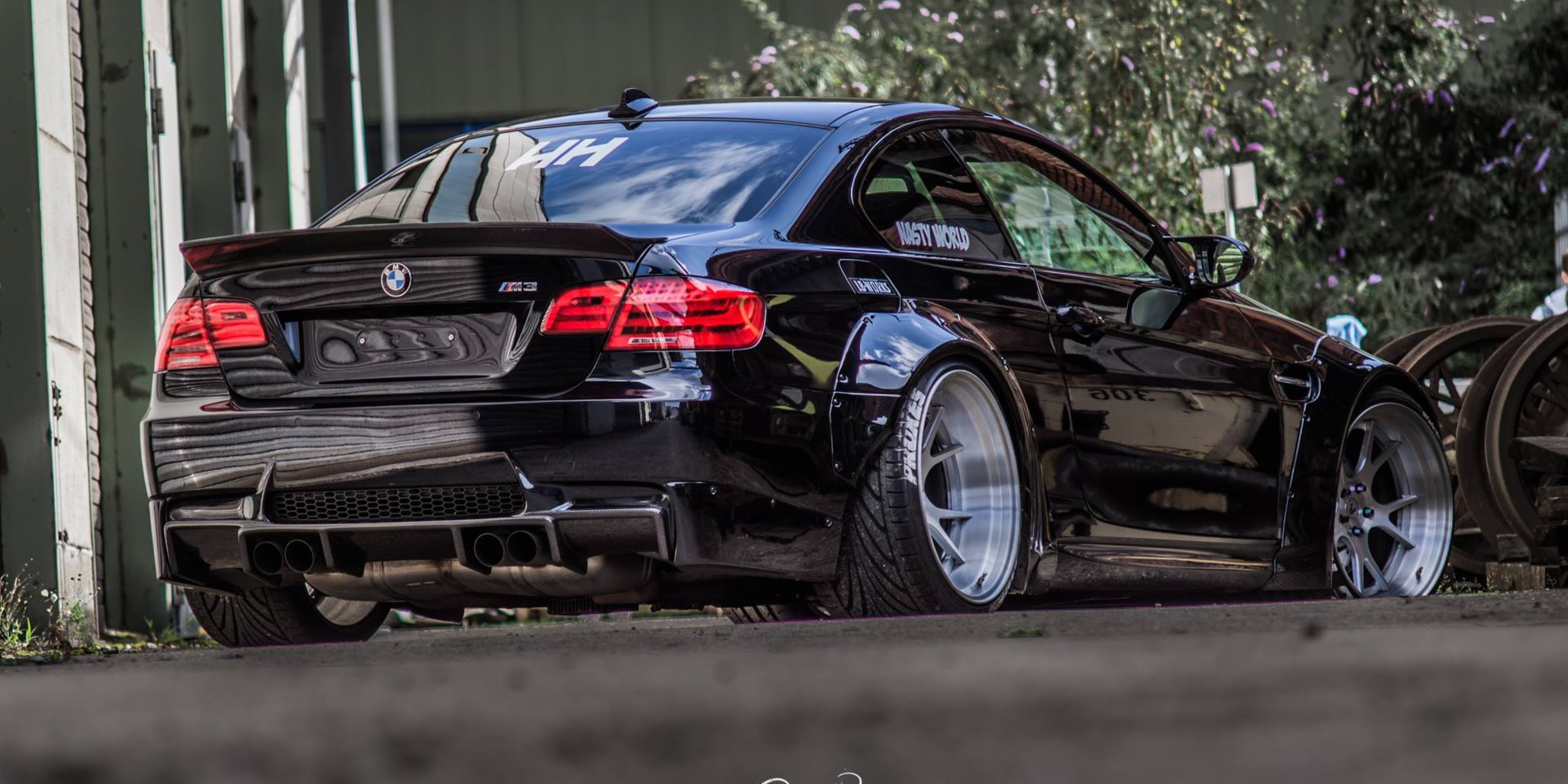 Hd Tune Up Cars Wallpaper Bmw E92 M3 Liberty Walk Nasty World Damnedwerk