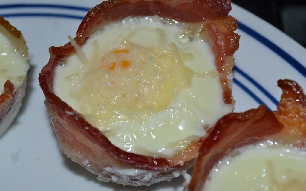 Bacon And Egg Cups Recipe - Damn Fine Dishes
