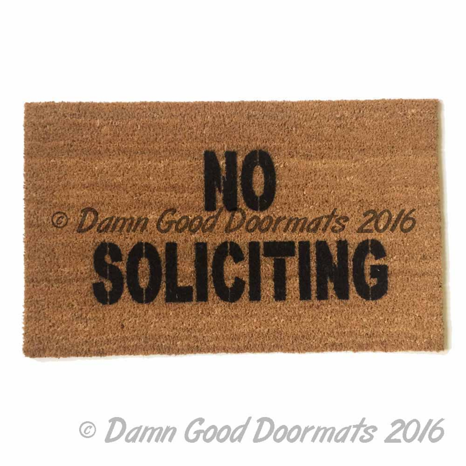 Doormat Funny No Soliciting Funny Rude Doormat Damn Good Doormats