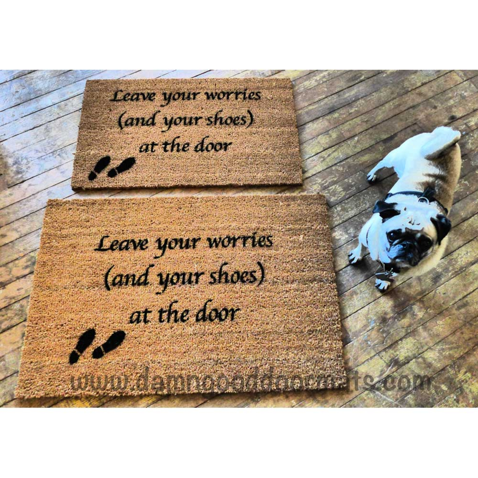Leave Welcome Mat Script Leave Your Worries And Your Shoes At The Door