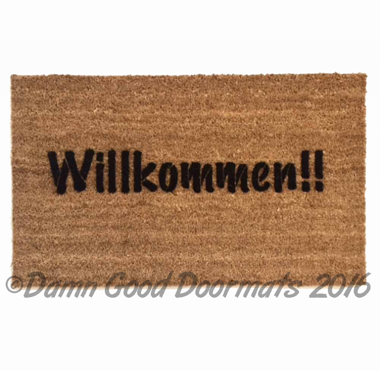 Leave Welcome Mat Willkommen Doormat Quotwelcome In Quot In German Damn Good Doormats