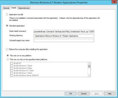 Removing Windows 8.1 Modern Applications during your MDT / SCCM Task Sequence - TechNet Articles ...