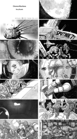 Storyboards for Nitrate Films