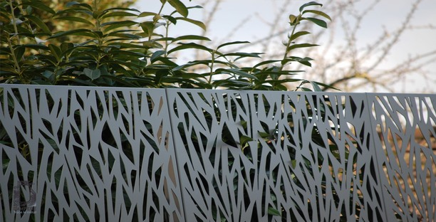 Pare Vue Vegetal Cloture Aluminium Cloture En Aluminium