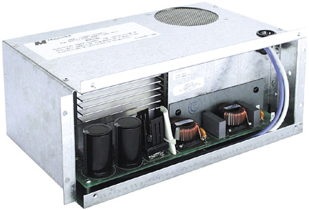 Electronic AC to DC converter section with 45 Amp maximum output and