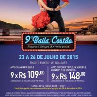 BAILA COSTÃO 2015 - Pacotes já estão disponíveis!