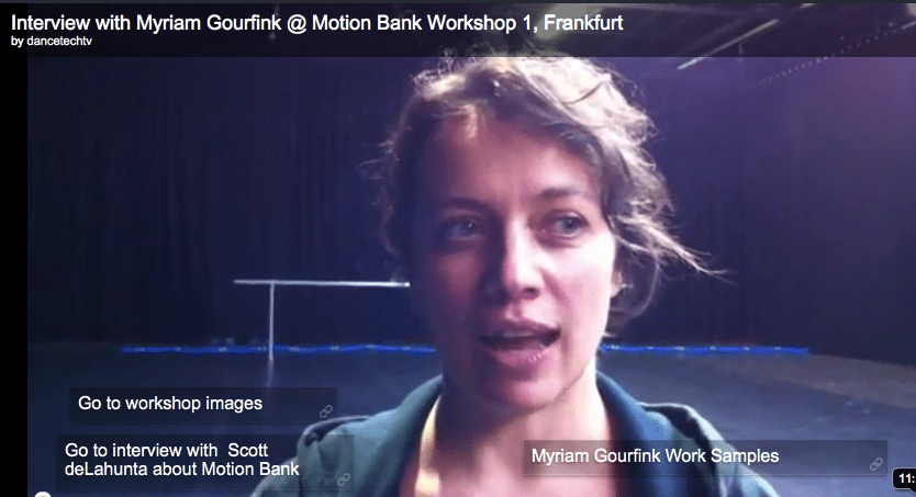 embedded_vlogger@Motion Bank Workshops No. 1, Frankfurt